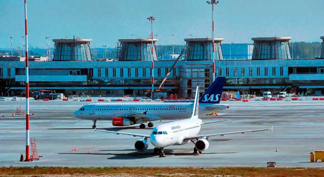 Saint Petersburg Airport served over 13 Million passengers in 2015.